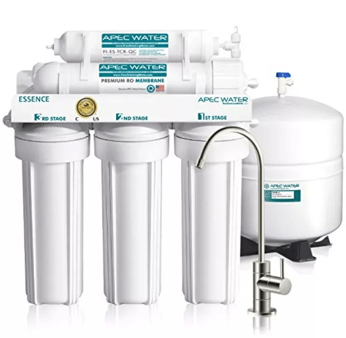 APEC ROES-50 Premium 5-Stage Reverse Osmosis Water Filter