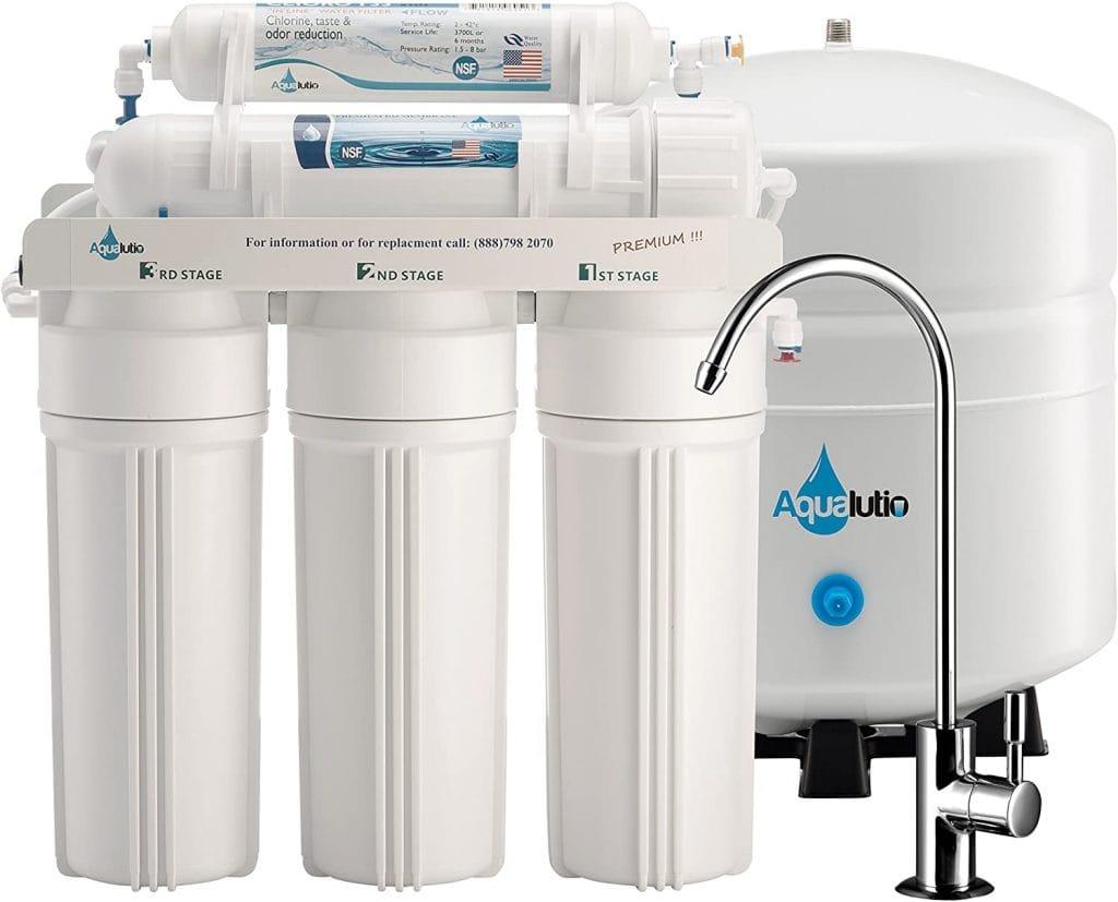 AquaLutio AL-1118 Reverse Osmosis Water Filter