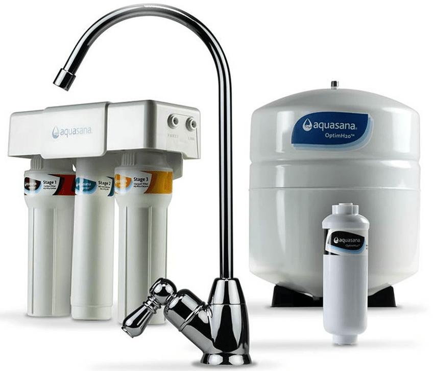 Aquasana OptimH2O + Claryum Reverse Osmosis Water Filter