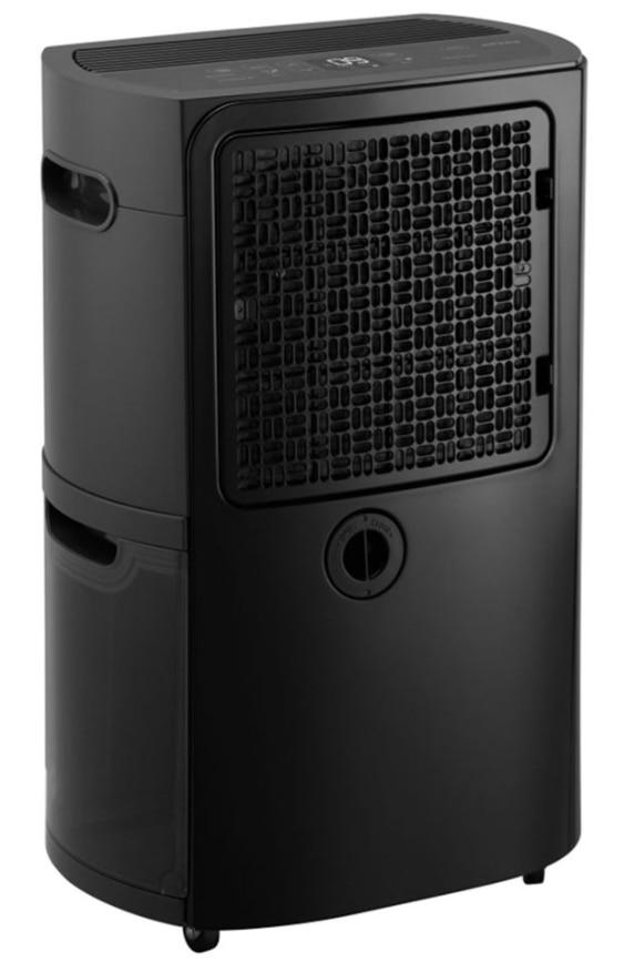 Back of LG Puricare 50-Pint Dehumidifier