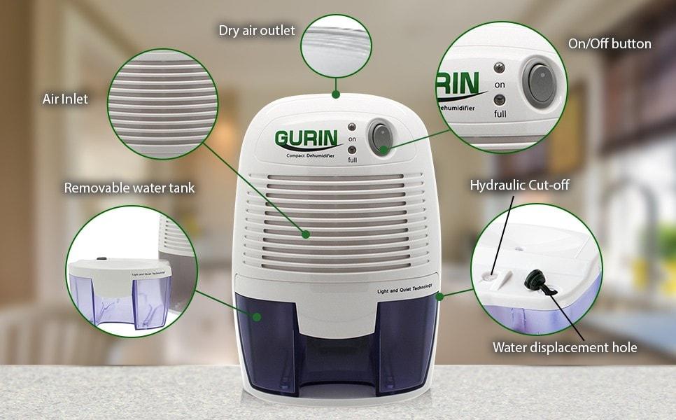 Gurin DMD210V Dehumidifier Build Quality photo