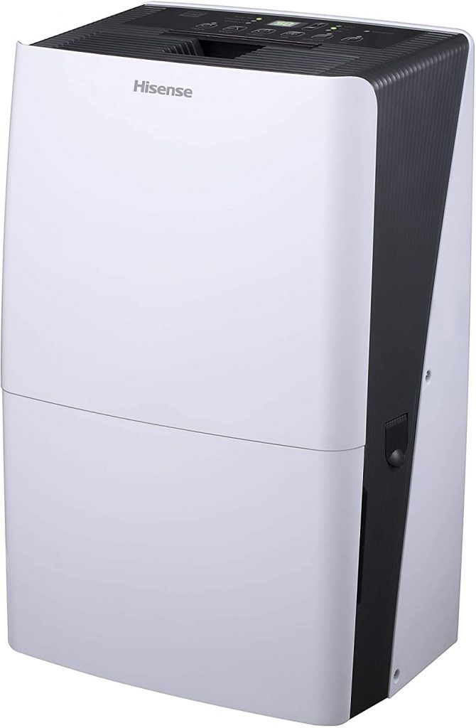 Hisense DH7019KP1WG Dehumidifier 2