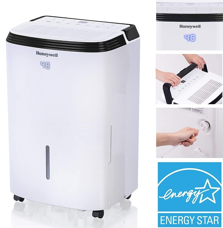 Honeywell Dehumidifier Features picture