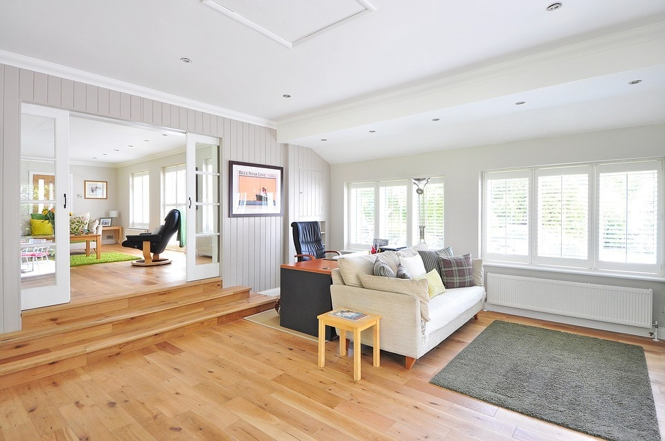 House with wood flooring