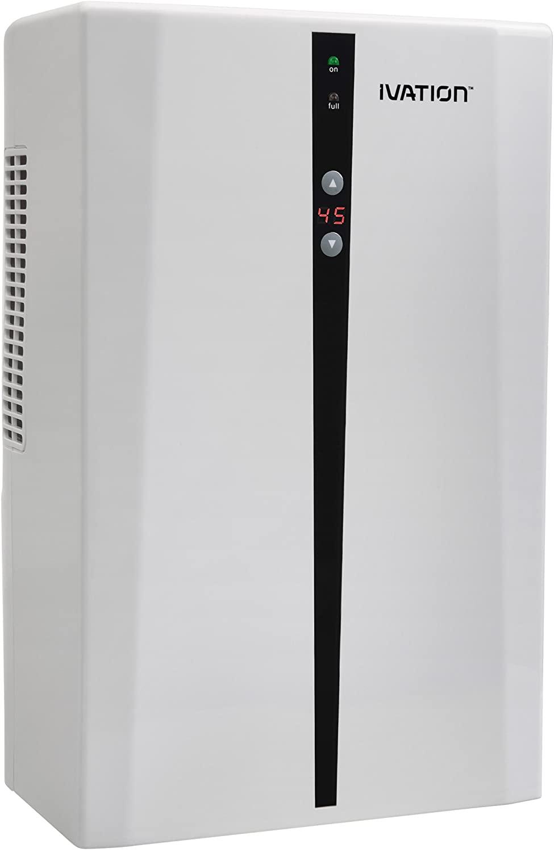 Ivation IVADM45 Dehumidifier with Auto Humidistat