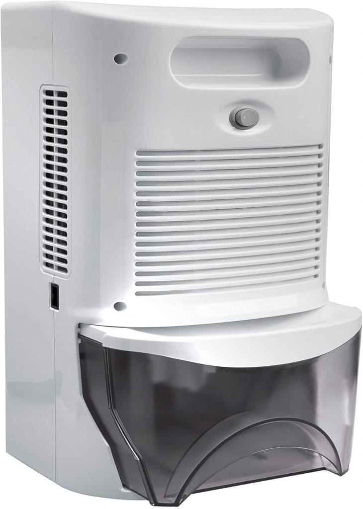 Ivation IVADM45 Thermo-Electric Dehumidifier tank