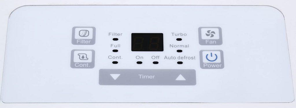 Keystone Dehumidifier Control Panel