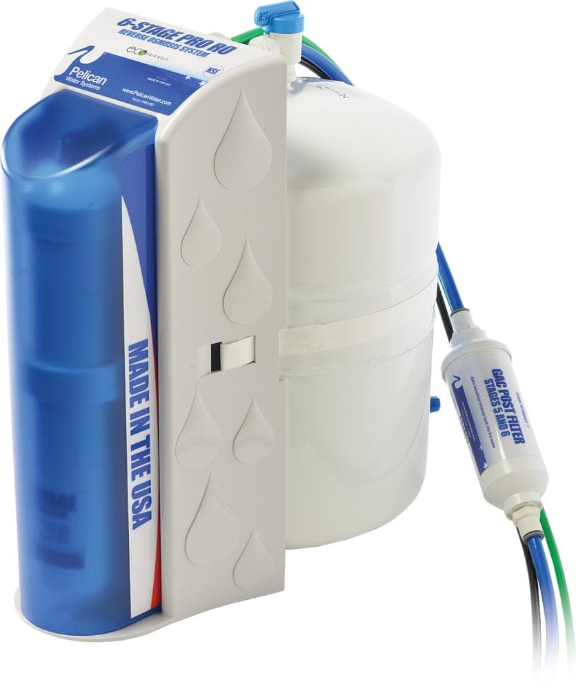 Pelican Pro 6-Stage Reverse Osmosis Water Filter