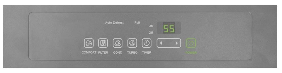 Perfect Aire Dehumidifier Digital Panel