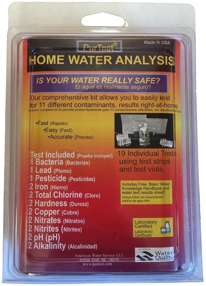 PurTest TST-HWAK Water Test Kit