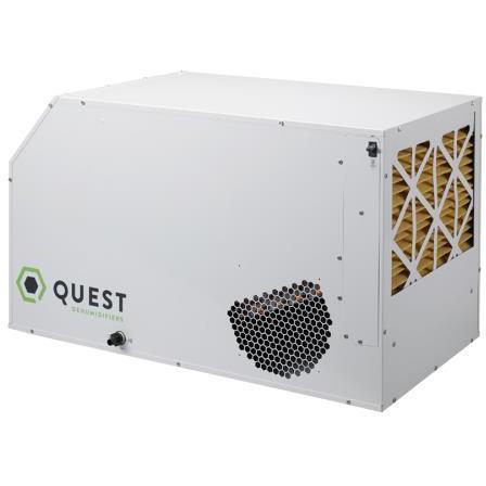 Quest Dual 105 Overhead Dehumidifier