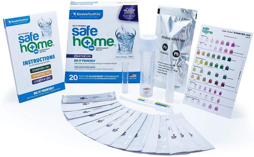 Safe Home Starter-20 Water Test Kit