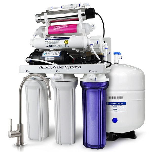 iSpring RCC7 5 Stage Reverse Osmosis Water Filter